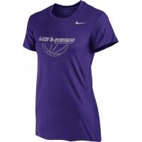 Lake Stevens AAU - Boys 15: Nike Women's Legend Short-Sleeve Training Top - Purple