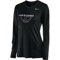 Lake Stevens AAU - Boys 18: Nike Women's Legend Long-Sleeve Training Top - Black