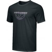 Lake Stevens AAU - Boys 20: Adult-Size - Nike Combed Cotton Core Crew T-Shirt - Black