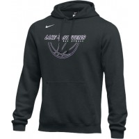 Lake Stevens AAU - Boys 22: Adult-Size - Nike Team Club Fleece Training Hoodie (Unisex) - Black